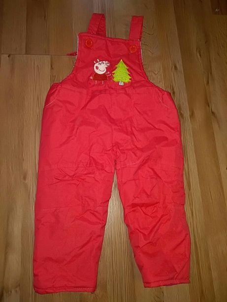 Spodnie zimowe ocieplane