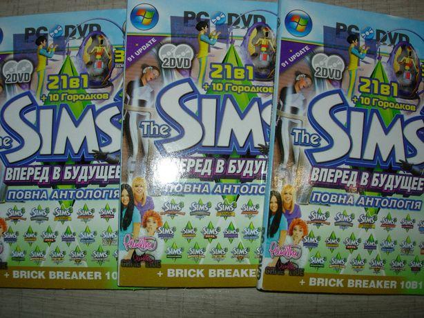 Sims 3 Симс3 (33в1) Полный сборник на 4-х DVD Установка без Дисковода