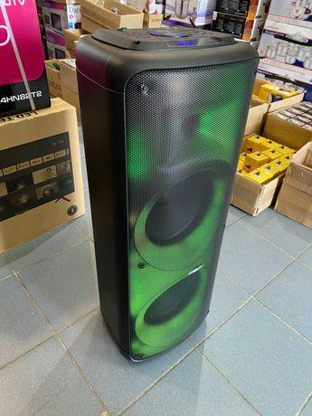 портативная аккумуляторная колонка чемодан с микрофоном комбик караоке