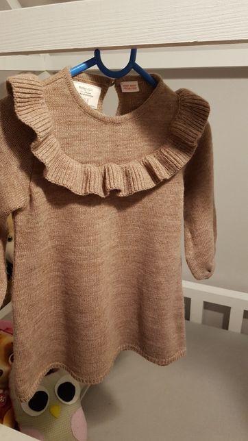 Sukienka , sweterek, tunika zara rom 98