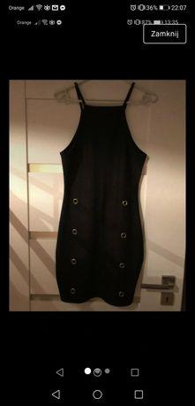 Sukienka mini czarna boohoo