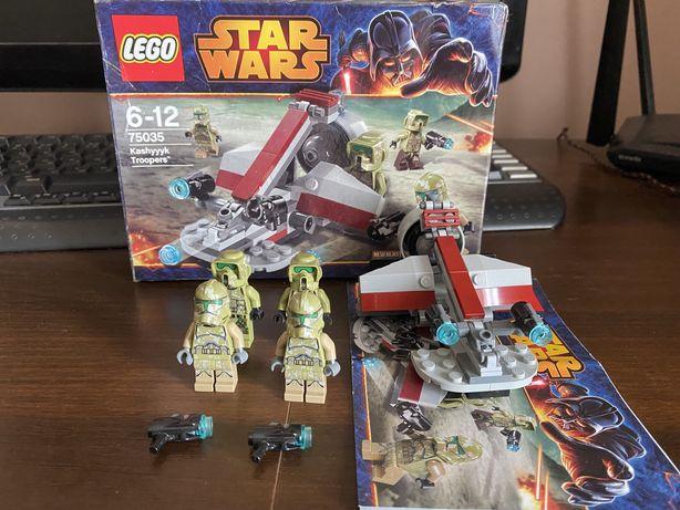 Lego Star wars Kashyyyk troopers 75035