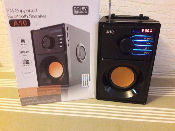 Głośnik przenośny bluetooth kolumna wieża Bluetooth Radio FM+przenośny