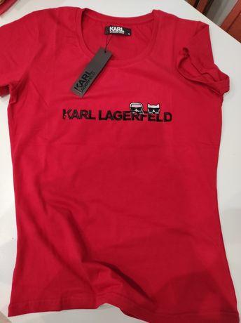 Koszulka Karl Lagerfeld S-Xl Outlet Nowość