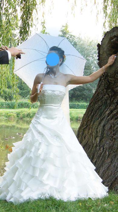 Suknia ślubna !! Lubin - image 1