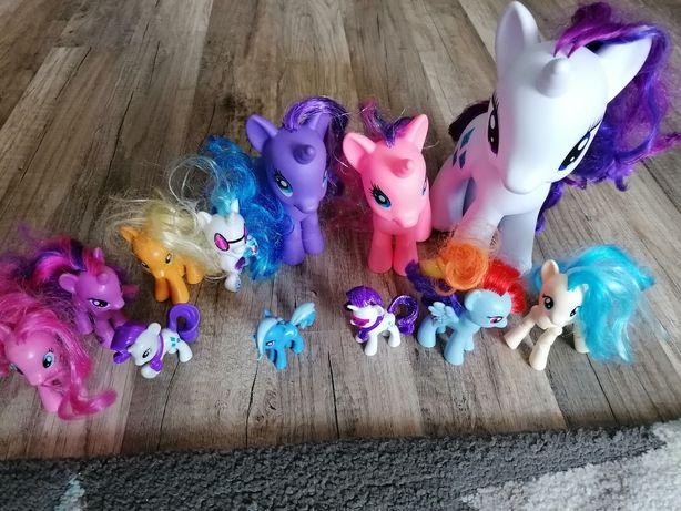 Kucyki My Little Pony duży zestaw