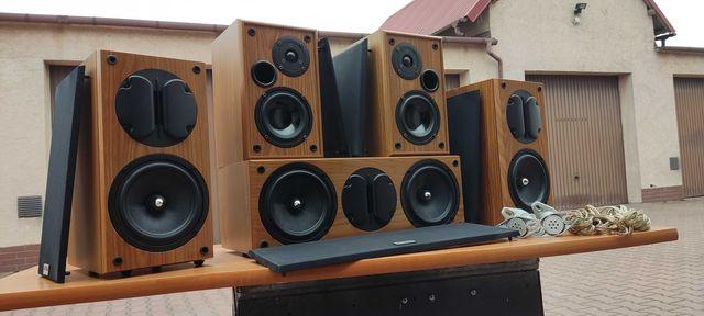 KODA AV702S V2 kolumny głośnikowe JAK NOWE + uchwyty ścienne + przewod