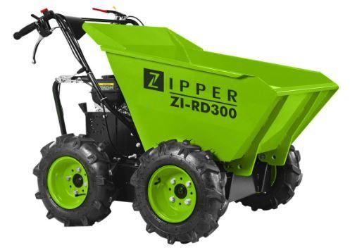 Dumper 4x4 motor a gasolina c/ Contentor basculante capacidade 300 kg