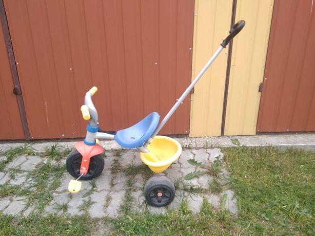 Rower dla dziecka trójkołowy Smoby