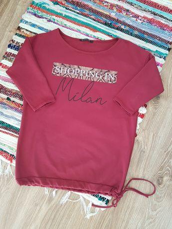Bluzeczka bluzka z ściągaczem na dole rozmiar S/M latynka