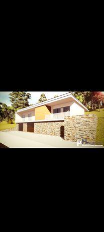 Terreno com projecto aprovado em Fermelã-Estarreja