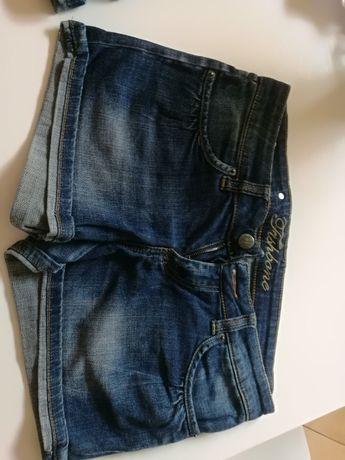 Jak NOWE spodenki jeansowe M