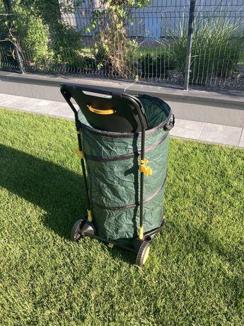 Kosz ogrodowy worek torba na liście trawę 160 litrów