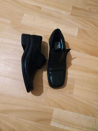 Туфли мокасины натуральная кожа для мальчика подростка