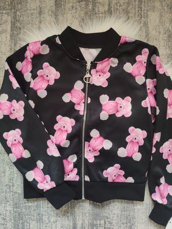 Bluza w różowe misie