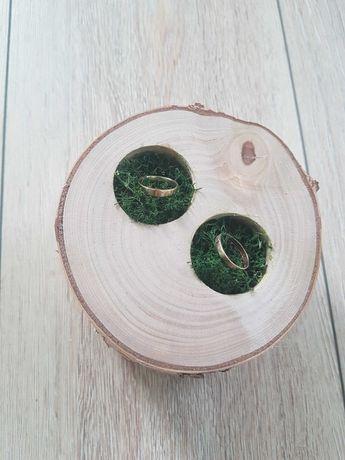 Wynajem drewnianych ozdób chrobotek brzoza drewno boho wesele