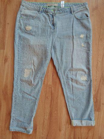 NEXT-przecierane jeansy boyfriendy roz.44/46