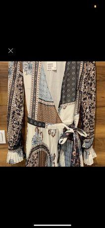 Sukienka H&M maxi, rozmiar 34.