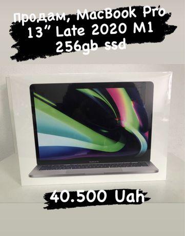 Новий Macbook Pro 13 на процессоре М1 (Late 2020)
