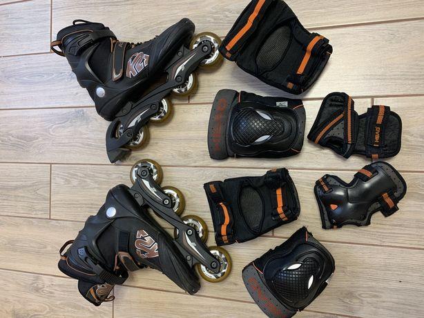 Мужские роликовые коньки K2 Aspire (размер 44)