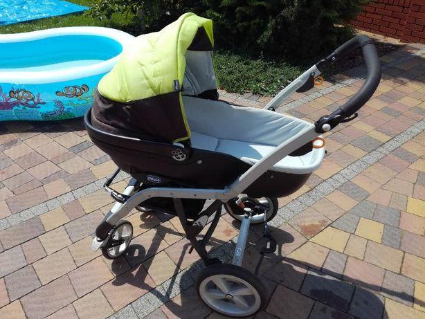Wózek Chicco 3w1 gondola, spacerówka, fotelik samochodowy