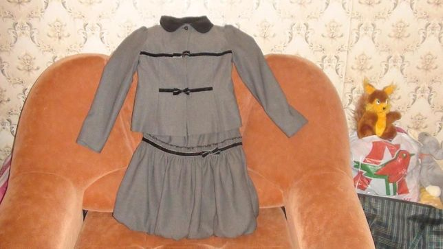 Школьный костюм на девочку на рост 146