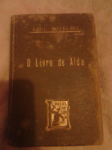O Livro de Alda, Abel Botelho, 1898, 1ª Edição