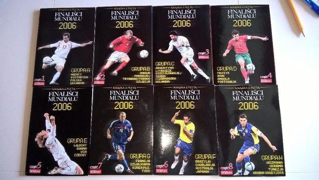 Kolekcja Finaliści Mundialu 2006 książeczki + płyty