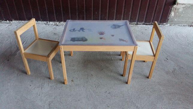 stolik i 2 krzesełka dla dziecka / 690