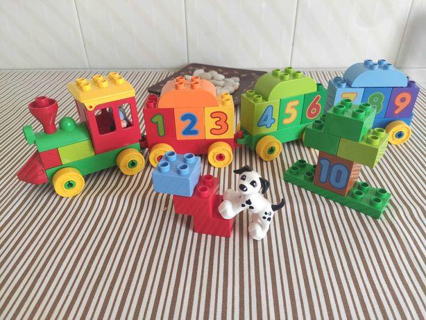 Vende-se Lego Duplo 10558 (comboio dos números)