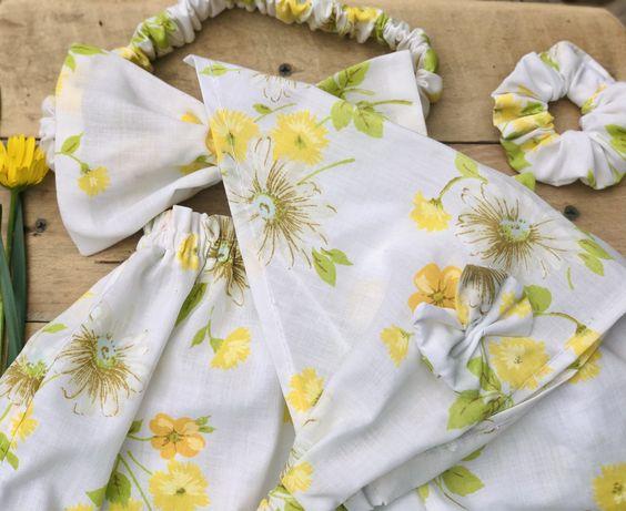 Подарунок!!!Комплект, набор, повязка, юбка, косинка, панама
