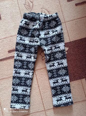 Теплі лосини на міху на дівчинку(в подарунок джинси)