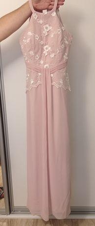 Piękna długa suknia r S