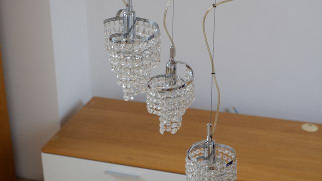 Lampa wisząca - kryształowa