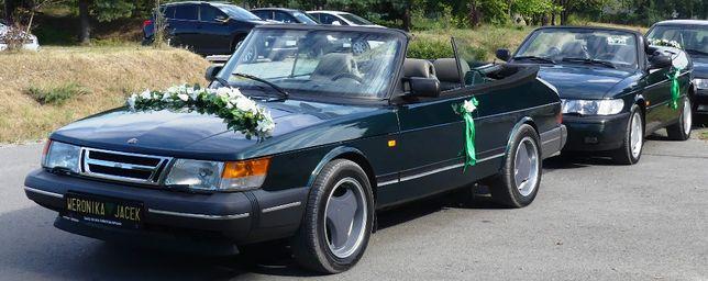 auta do ślubu saab 900 CABRIO + napis LOVE