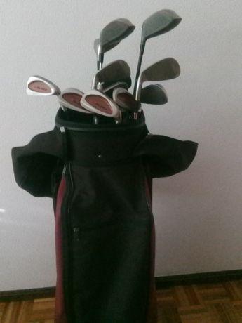 Tacos de golfe + bolsa