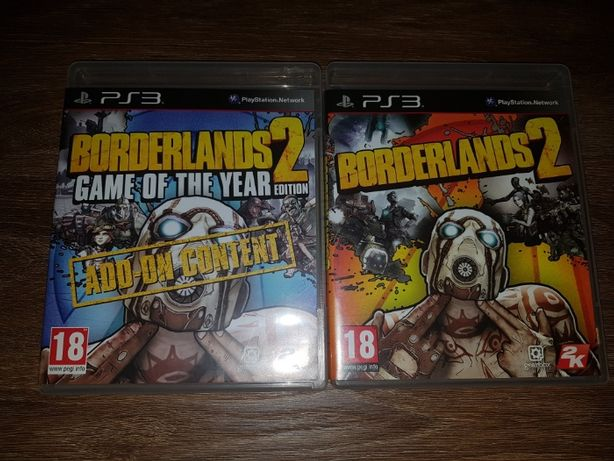 Borderlands 2 Game Of The Year Edition na PS3
