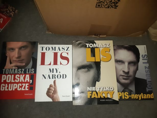 Książki Tomasz Lis