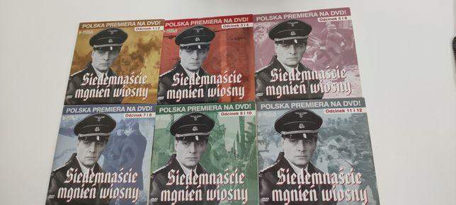 Siedemnaście mgnień wiosny DVD zestaw