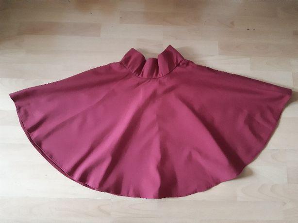 Piękna, bordowa spódnica z koła, Orsay 36