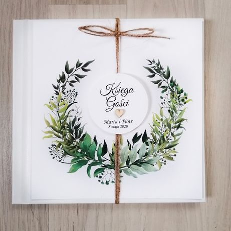 Księga gości na wesele LEŚNA