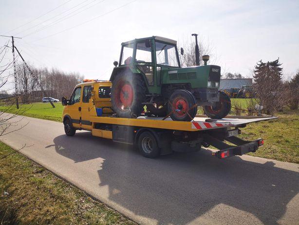 Pomoc drogowa24h Transport maszyn rolniczych budowlanych przemysłowych