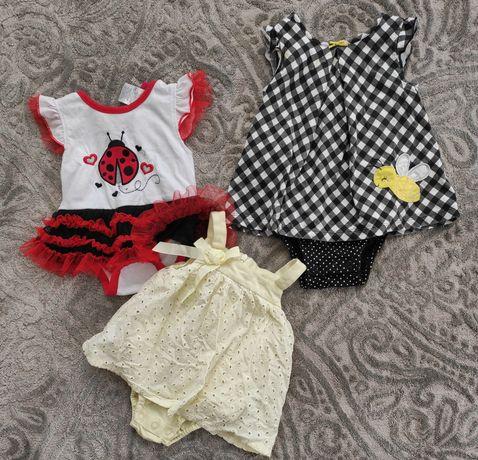 Набір одягу для немовля дівчинка