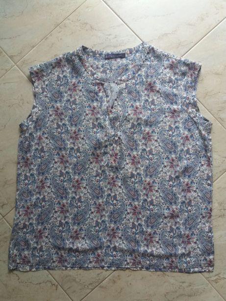 Kolorowa bluzka Mango (XL)