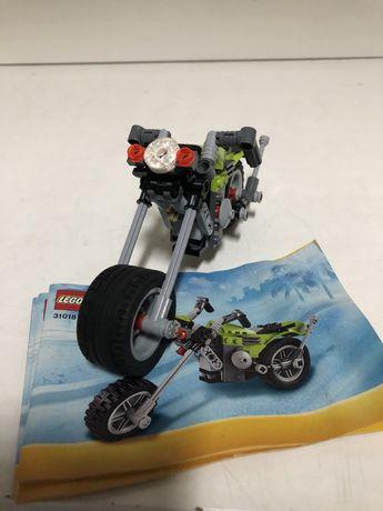Lego City Moto com instruçoes