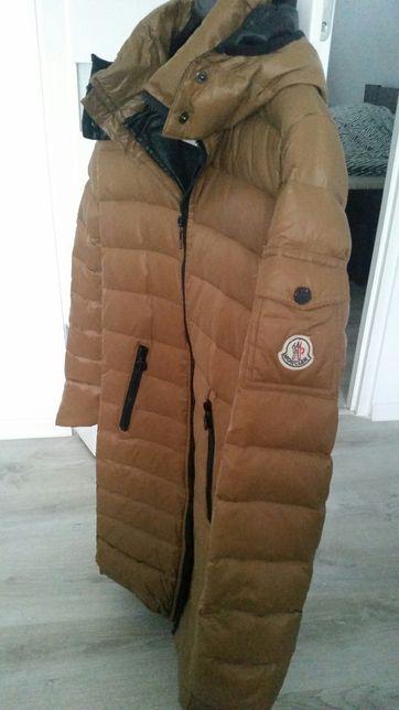 Pikowany płaszcz zimowy