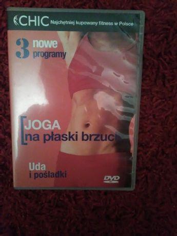 Płyty DVD 2 sztuki Joga płaski brzuch, Avatar