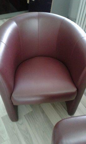Диван и 2 кресла duo club дуо клаб из экокожи цвет баклажан
