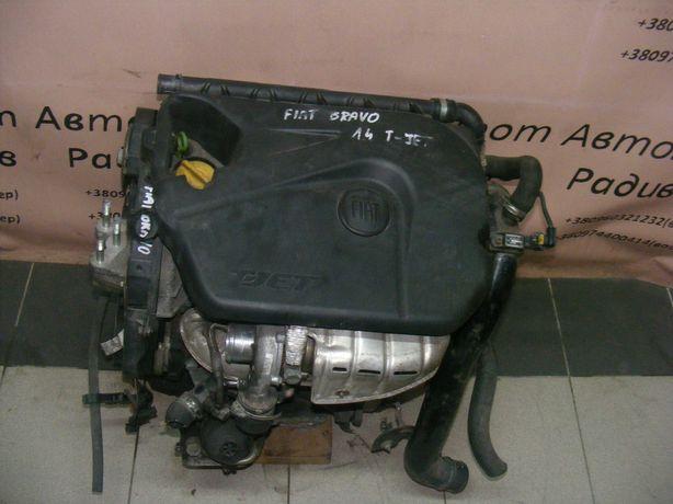 Двигатель Двигун Fiat Bravo Doblo Punto Linea 1.4 turbo t-jet 80тис.