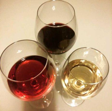 Красное Белое вина домашнего